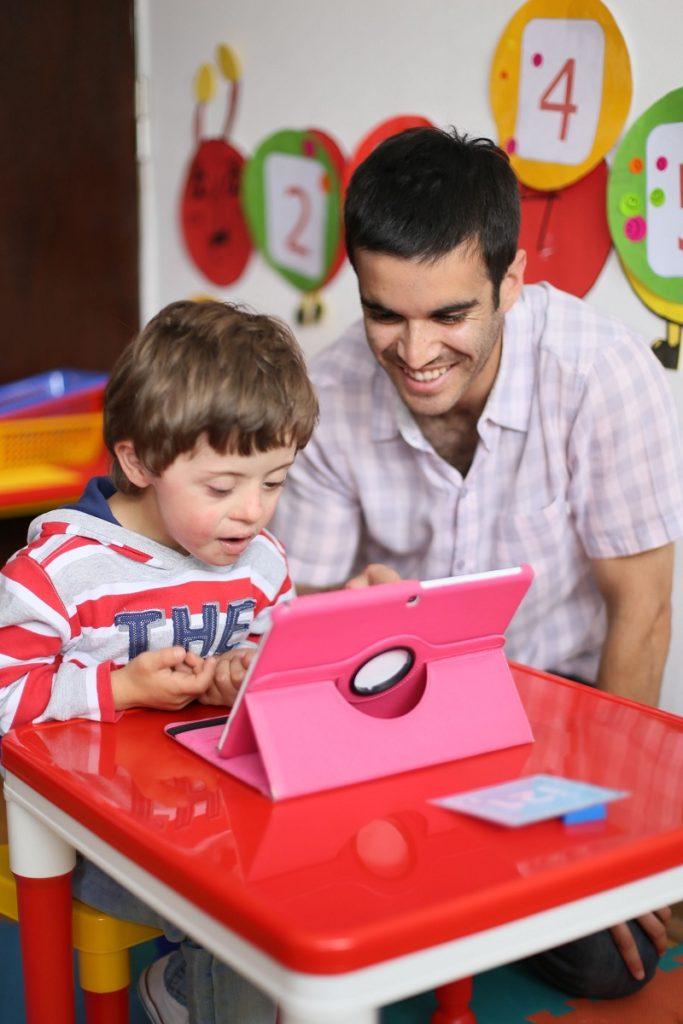 app para niños con Síndrome de Down desarrollo niño trabajo inclusión discapacidad discapacitado