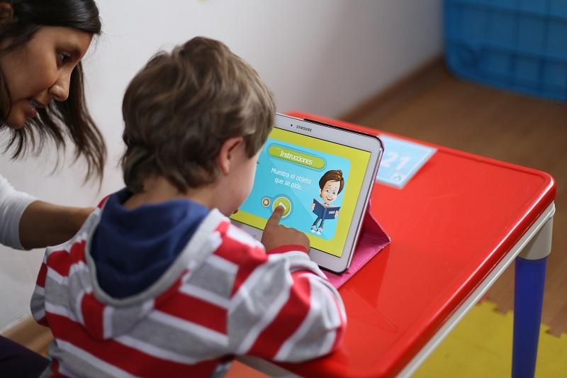 app para niños con Síndrome de Down trabajo inclusivo inclusión desarrollo niño pequeño