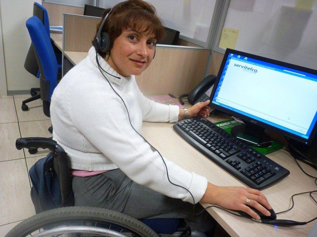 personas con discapacidad pueden trabajar incluyeme trabajador discapacitado inclusión 2017 españa