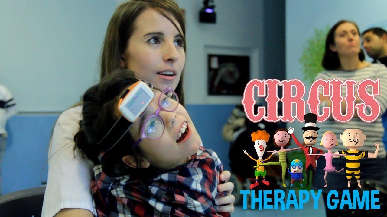 videojuego para la rehabilitación terapia rehabilitar ayudar apoyar niños niñas parálisis cerebral discapacidad discapacitado