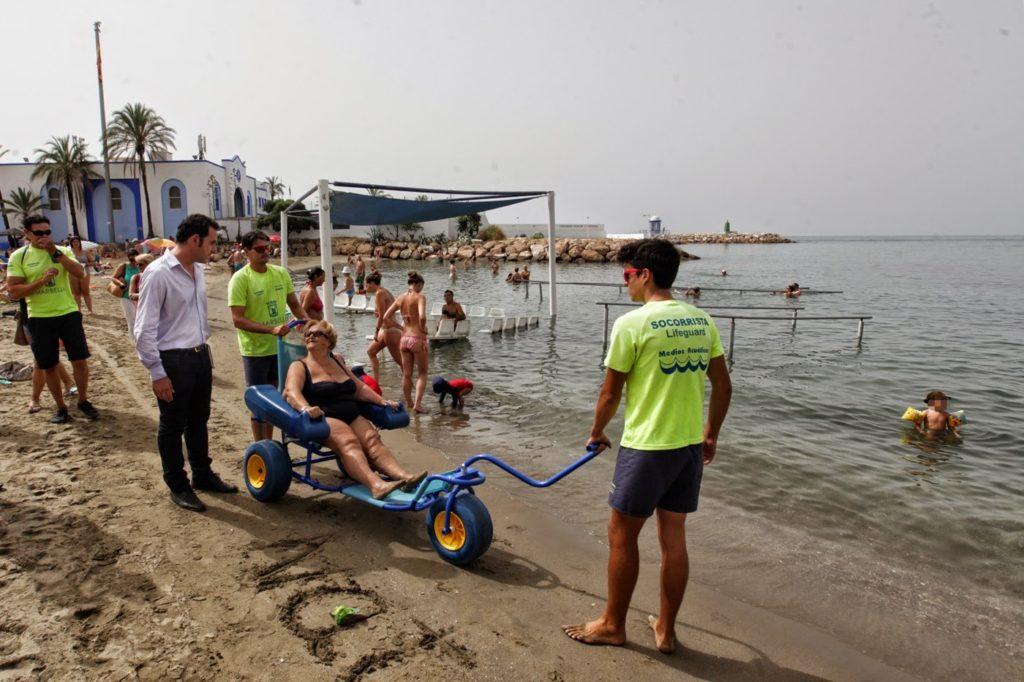 playas en Chile ahora son inclusivas ayuda fomenta incluye trabajo inclusion