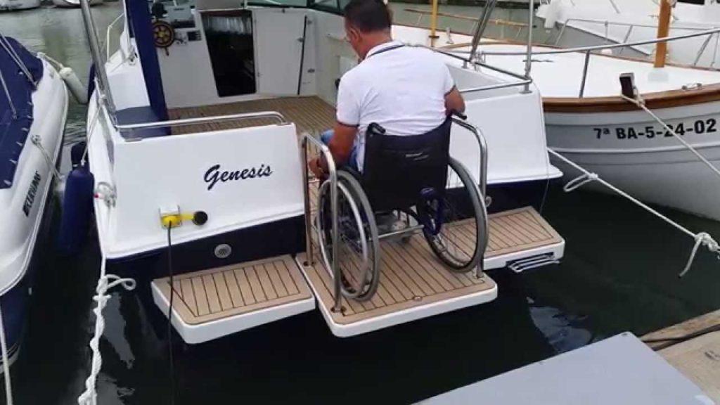 primer barco para personas con discapacidad inclusión inclusivo