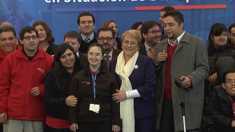 ley de inclusión laboral en Chile inclusivo incluir incluyeme