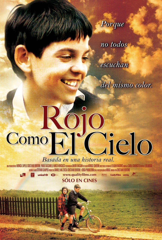 películas para educar a los niños rojo como el cielo