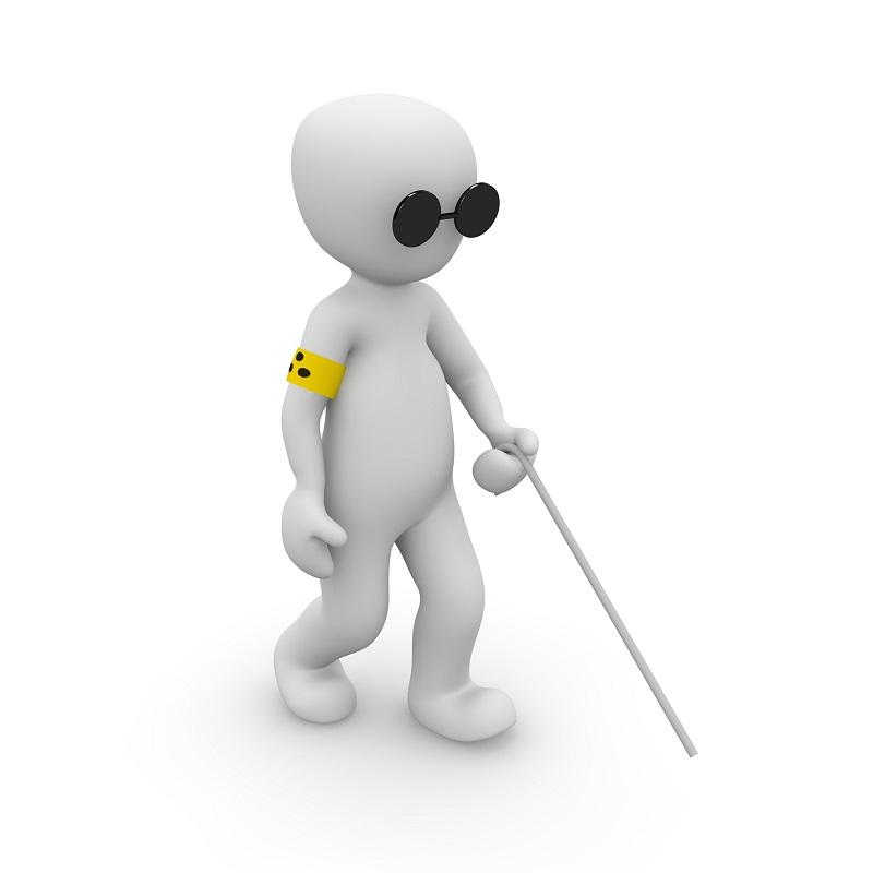 visual tipos de discapacidad discapacitado visión vista