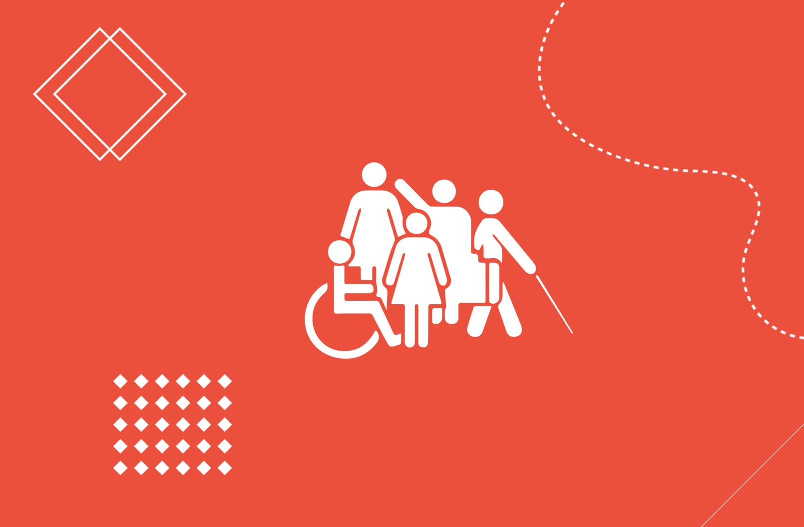 De cada 7 personas 1 tiene discapacidad