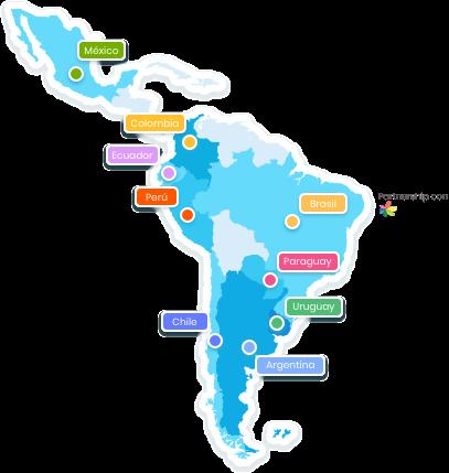 Imagen de mapa donde Incluyeme.com esta presente.